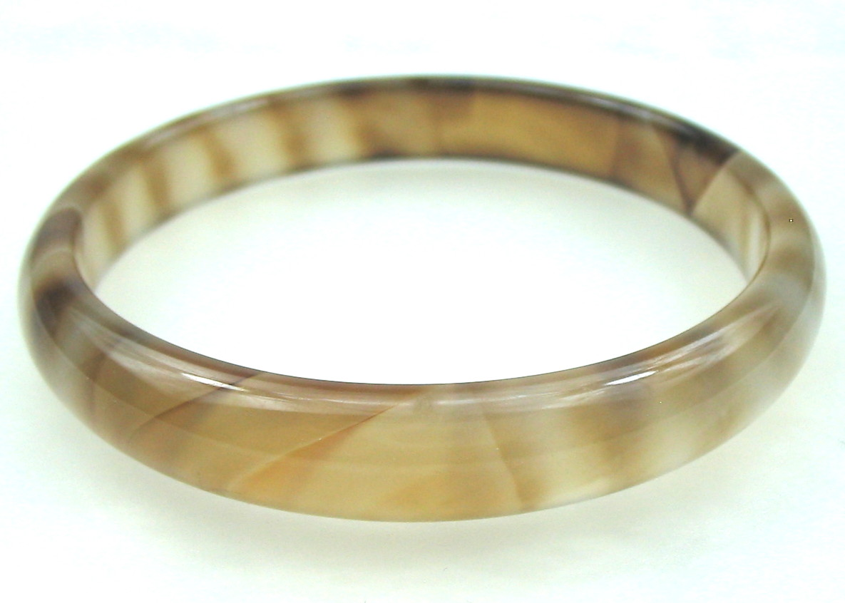 Multi-color Malay Jade Bangle Bracelet -br-jd5