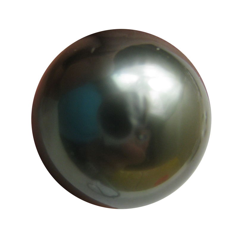 12.5 mm AAA- Half-drilled Black Tahitian Loose Pearl Beads- 1 Pcs -ls322