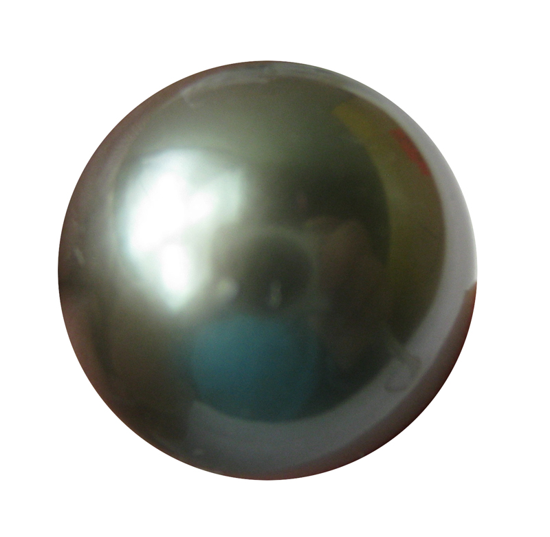 13.5 mm AAA not drilled Black Tahitian Loose Pearl Beads- 1 Pcs -ls325