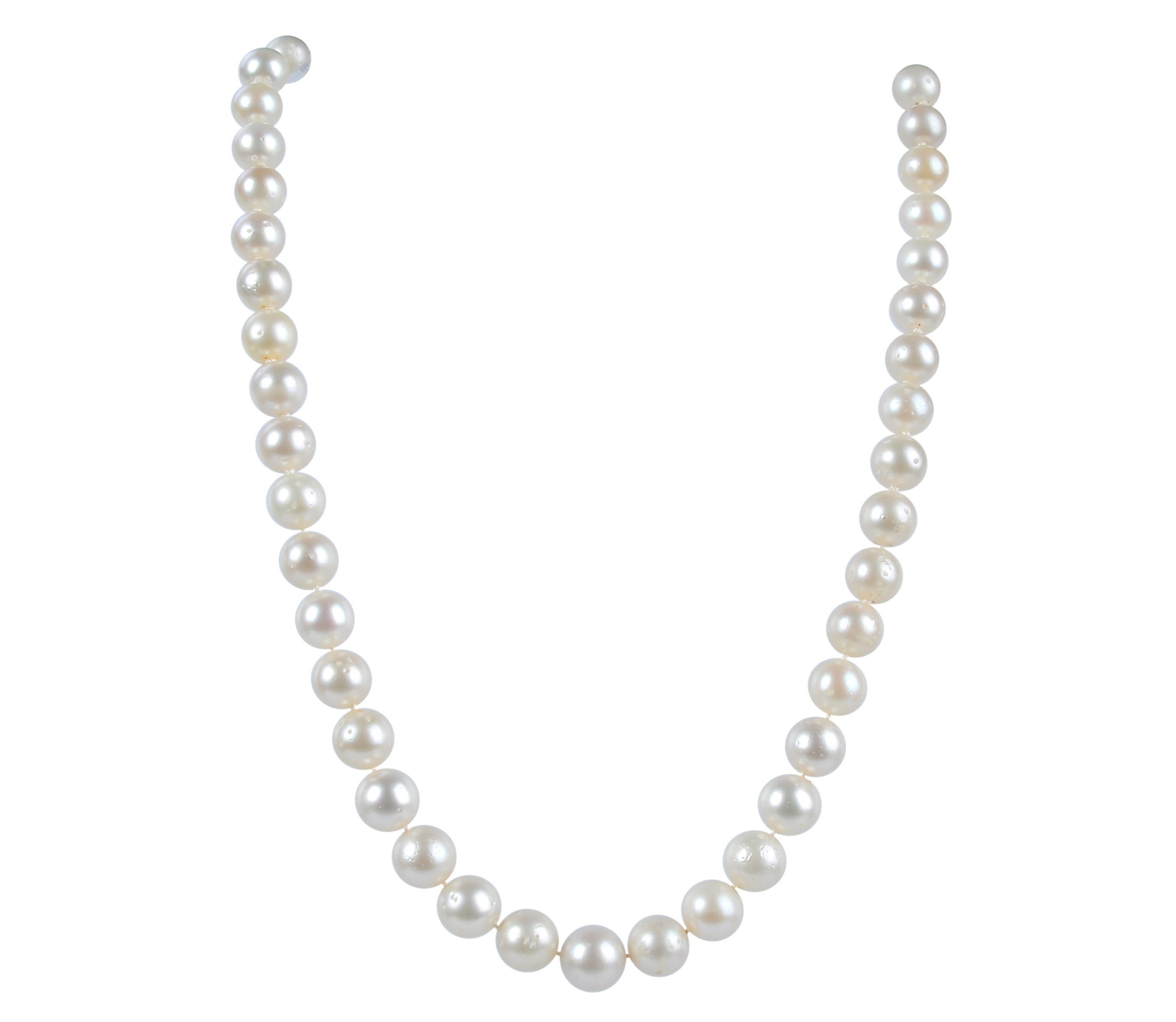Lustrous White South Sea Pearl Necklace -nk30
