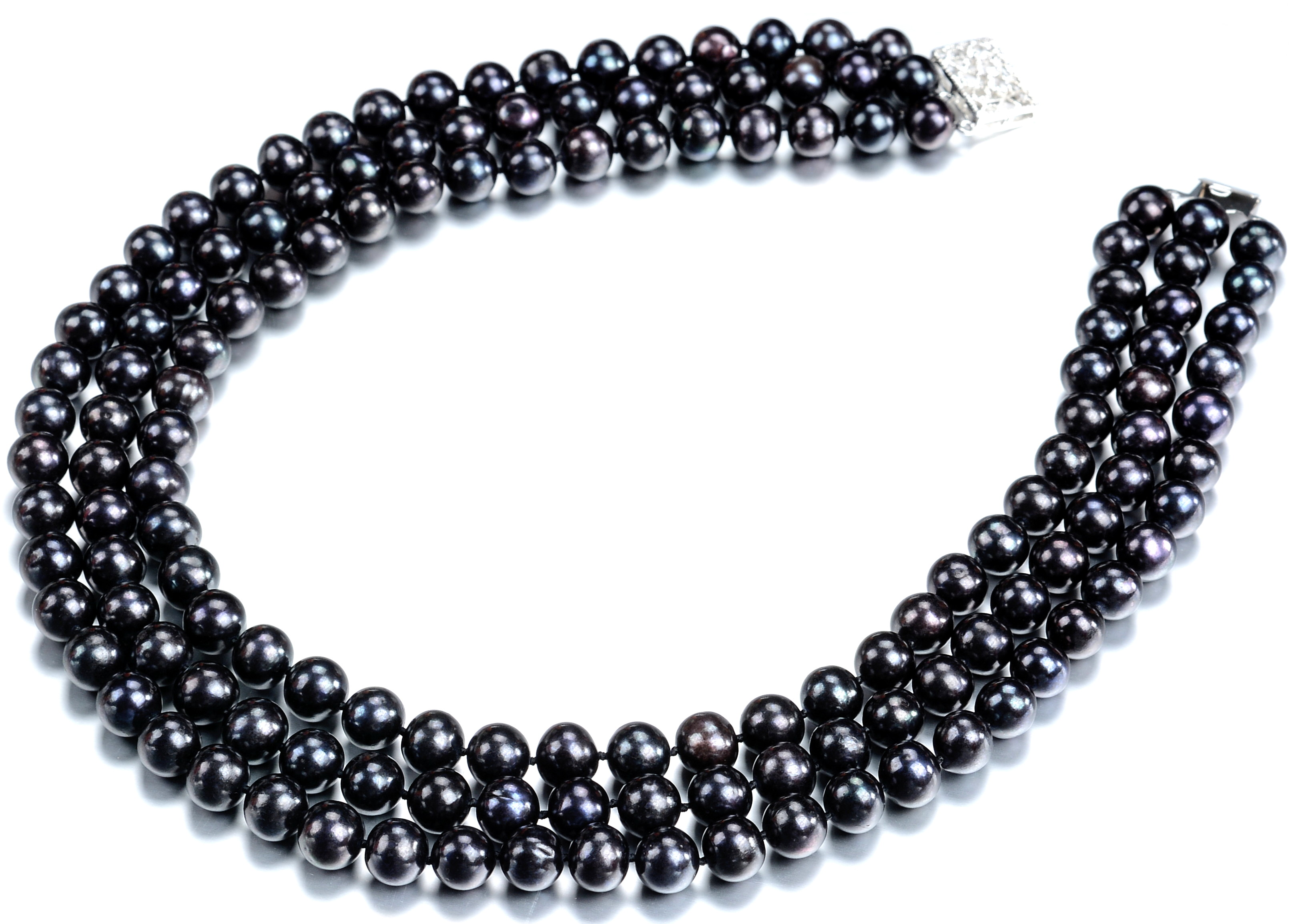63e5efc571ed2e 3 strand black pearl necklaces