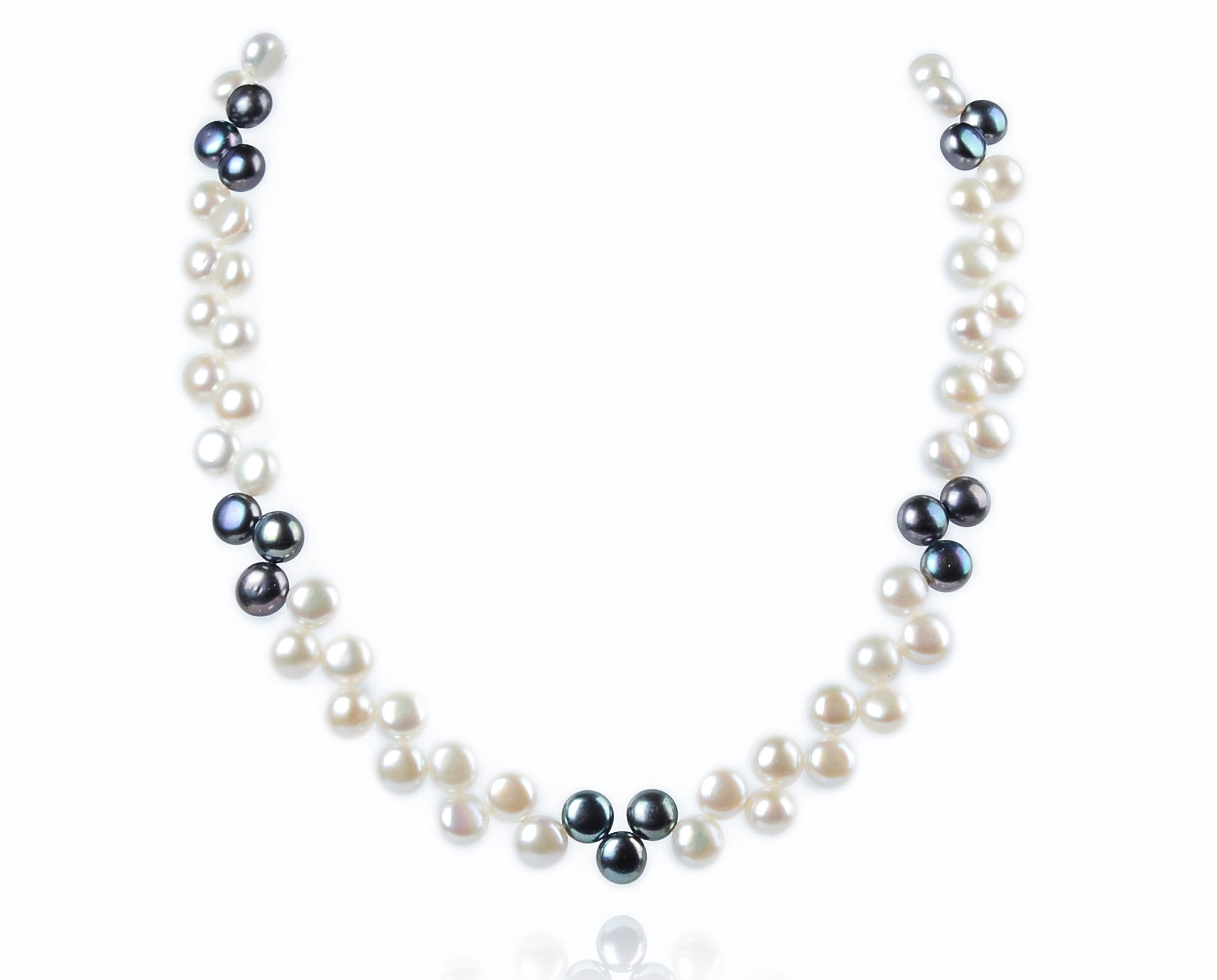 necklace the single strand pearl winterson jewellery white gold classic or freshwater in silver