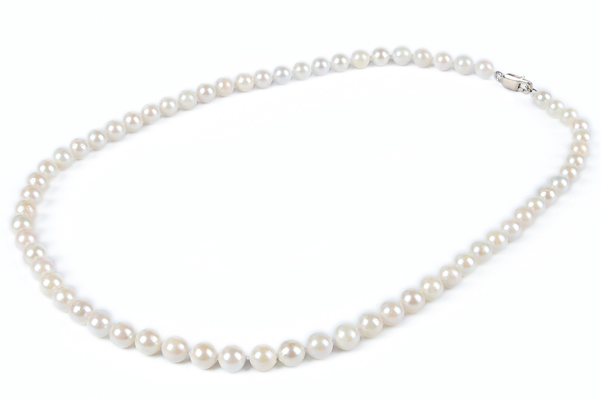 sterling pearl asp box on chain and freshwater silver necklace p tricolour single
