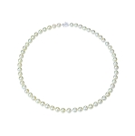 7.5mm AAA- Natural Color Saltwater Akoya Cultured Pearl Necklace -nk2