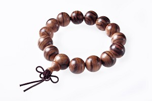 Elastic 15 - 16mm Chenxiang/eaglewood/agarwood bracelet SKU#: cx-br1
