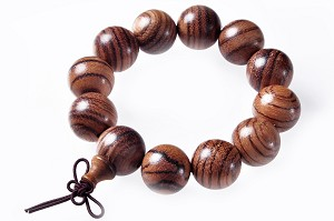 Elastic 19mm Chenxiang/eaglewood/agarwood bracelet SKU#: br-cx3